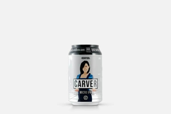 Gipsy Hill London Carver Micro IPA Session India Pale Ale