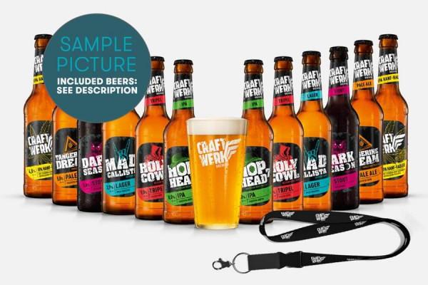 Craftwerk Brewing Craft Beer Paket + Merch