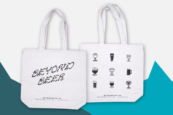 Beyond Beer Canvas Shopper