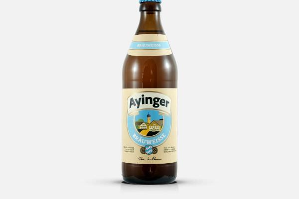 Ayinger Brauerei Bräuweisse - Hefeweizen Weißbier