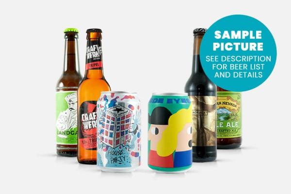 Craft Beer Gift Pack - 6 Beers