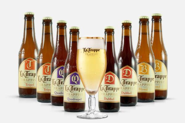 La Trappe Craft Beer Paket + Glas