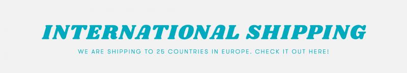 International Shipping FAQ