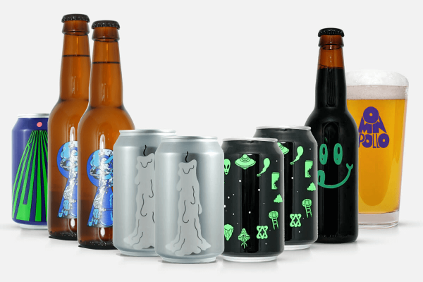 Craft Beer Bundle Omnipollo incl. Glas