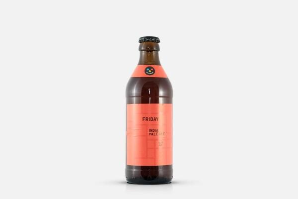 And Union Friday IPA Bottle