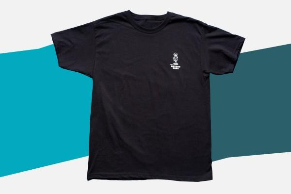 T-Shirt Beyond Beer Schwarz (unisex)