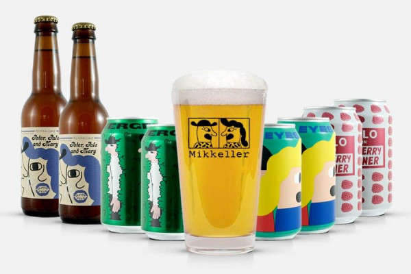 Mikkeller Craft Beer Paket + Glas