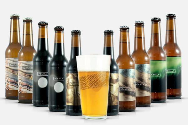Põhjala Craft Beer Paket + Bier Glas