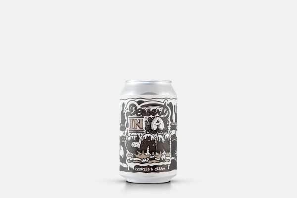 Amundsen Dessert in a Can - Cookies and Cream Pastry Stout