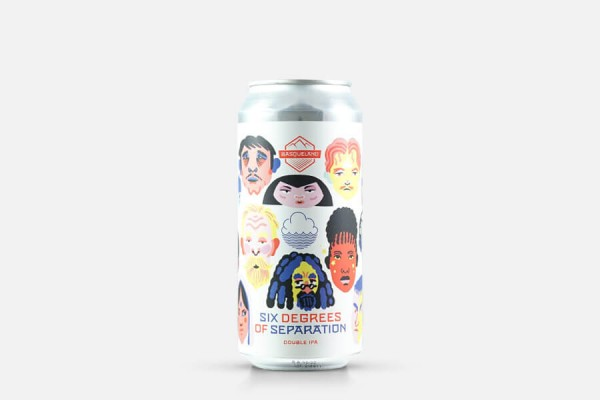 Basqueland Six Degrees Of Separation (Cloudwater Collab) Double IPA