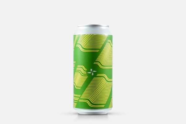 North Brewing Green Curve Kveik IPA