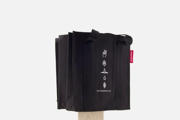 Reisenthel 9er Bottlebag schwarz mit Beyond Beer Druck