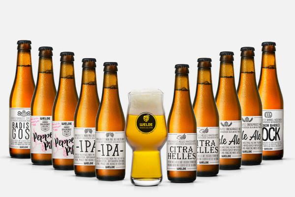 Welde Craft Beer Paket + Glas