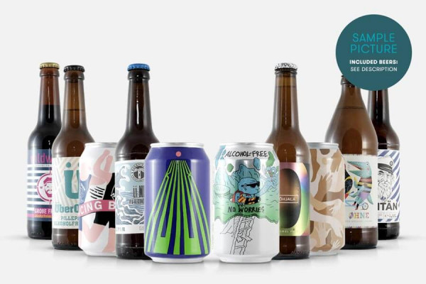 Beyond Beer Paket Alkoholfreie Biere - alcohol free beer