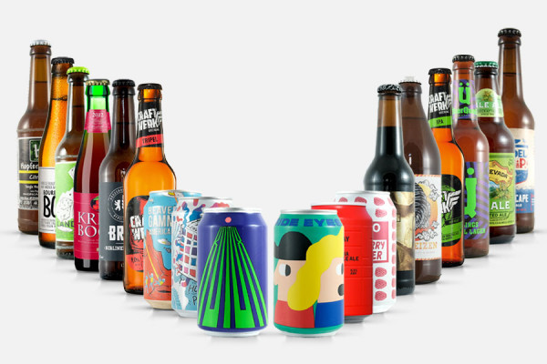 Craft Beer Geschenkpaket groß - 18 Biere