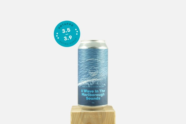 Cloudwater A Wave In The Marlborough Sounds