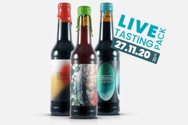 Pohjala Cellar Series Live Tasting Pack