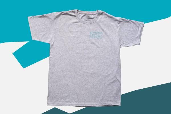 T-Shirt Beyond Beer Grau meliert (unisex)