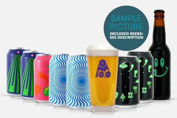 Craft Beer Paket Omnipollo + Glas