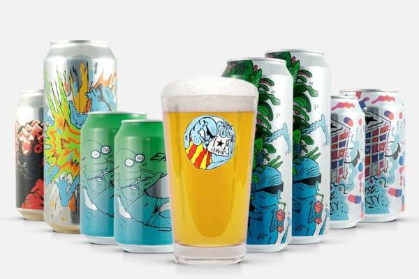 Lervig Craft Beer Paket + Glas