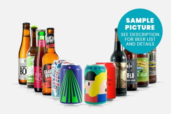 Craft Beer Geschenkpaket mittel | BEYOND BEER Hamburg