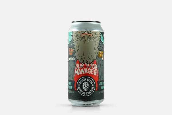 Sudden Death Talk To The Tourmanager (2021) Double IPA