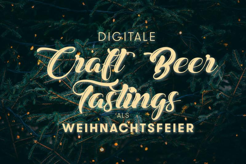 Virtuelle Craft Beer Tastings