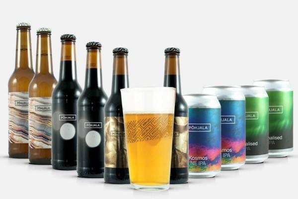Põhjala Craft Beer Paket + Glas