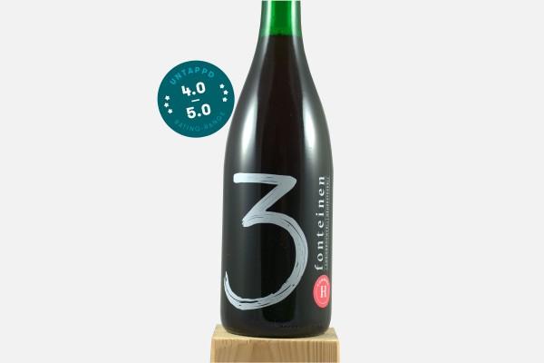 3 Fonteinen Hommage Bio Frambozen (season 18|19) Blend No. 33 (750ml)
