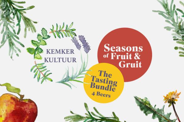Kemker Kultuur Live Tasting Paket Seasons of Fruit & Gruit