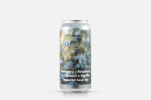 Arpus Blueberry x Raspberry x Coconut x Vanilla Imperial Sour