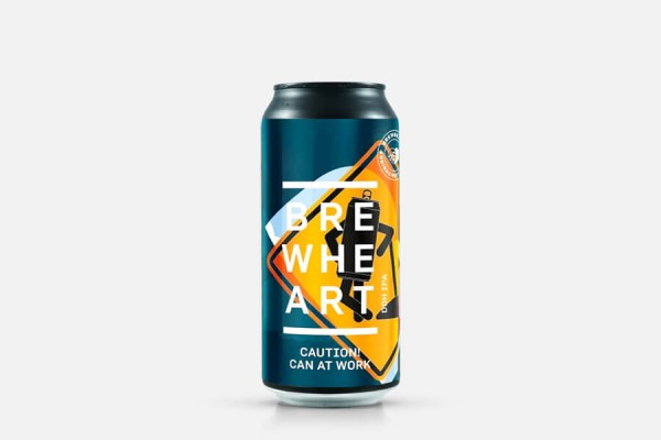 BrewHeart Caution! Can At Work NEIPA