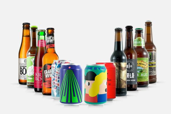 Craft Beer Geschenkpaket mittel - 12 Biere