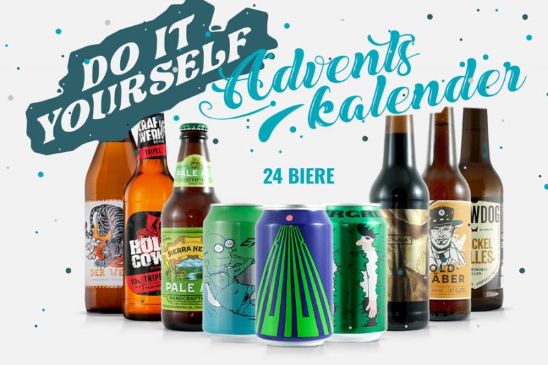 DIY Craft Beer Adventskalender