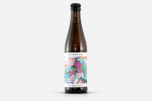 Brauerei Flügge Sieke & Ole 2020 Wein Mattern Bier Hybrid