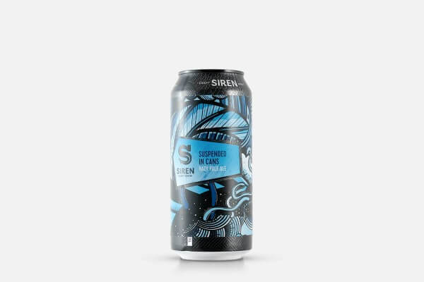Siren Suspended in Cans Hazy Pale Ale