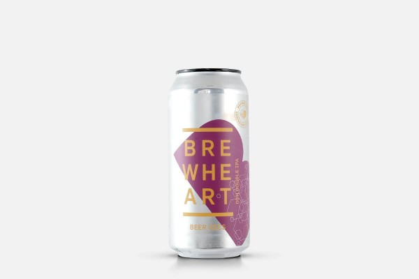BrewHeart Beer Gees Double NEIPA