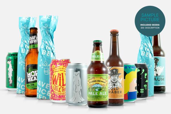 Craft Beer Paket: Geschankpaket groß