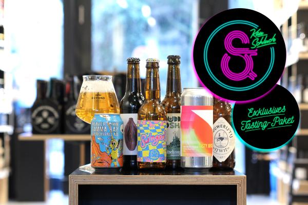 Craft Beer Paket: Kau und Schluck