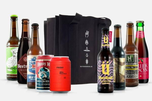 Craft Beer Paket mit 9er Bottle Bag