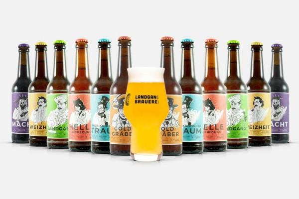Landgang Brauerei Craft Beer Paket + Glas