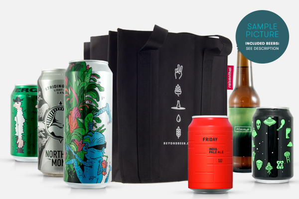 Craft Beer Paket: 9er Bottle Bag und 9 Biere