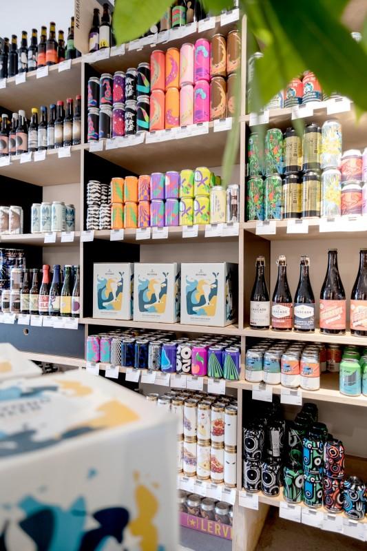 Bier im Shop