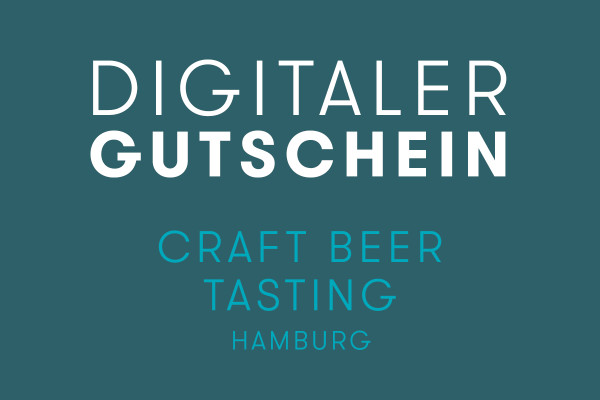 digitaler Gutschein Craft Beer Tasting in Hamburg