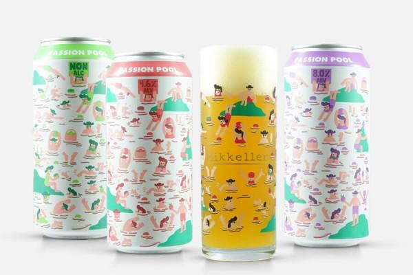 Mikkeller Passion Pool Pack + Glass