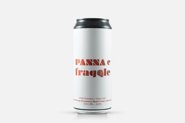 CRAK Panna E Fragole (Other Half Collab) Double IPA